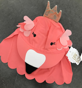 Baby/Kids Flamingo Swim Hat UPF 50+