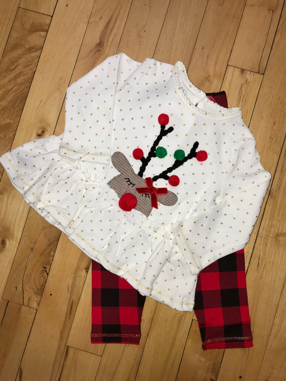 Red Nose Reindeer Two Piece