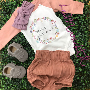 Baby Girl Blush bloomers
