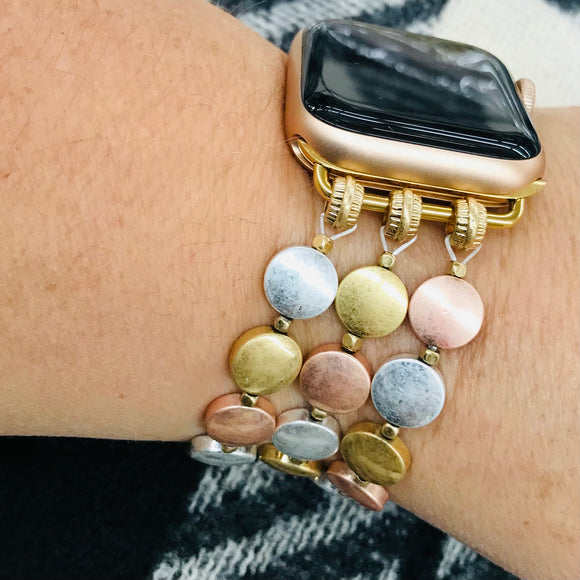 Gold Dots Apple Watch Band