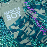 Mama's Baby Three Piece Camo Set