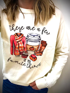 Fall Favorites Long Sleeve Tee