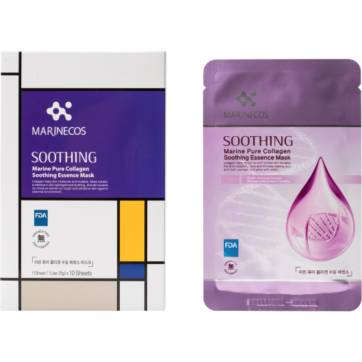 Marinecos Soothing Pure Collagen Sheet Mask