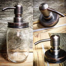 RUST RESISTANT Mason Jar Soap Dispenser-Bathroom Accessories-DIY