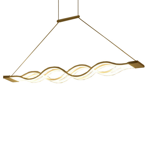 Wave design Chandelier for dinning room chandelier lights modern chandelier led lighting