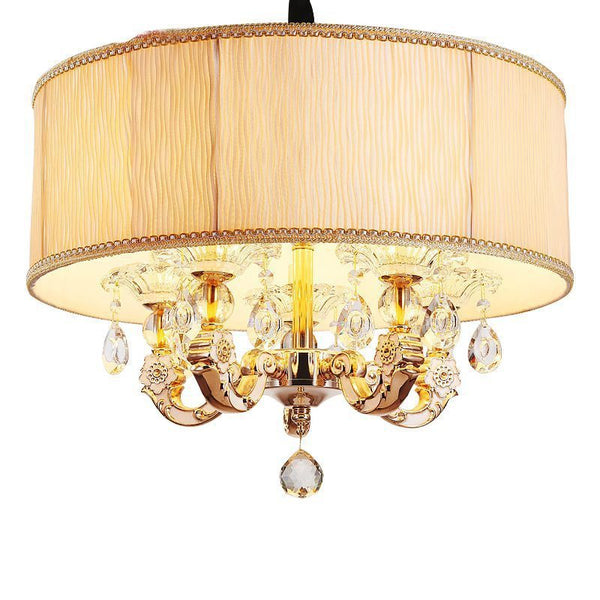 Crystal Chandelier Living Room Lamp indoor Lights Crystal Pendants For Fixture Light