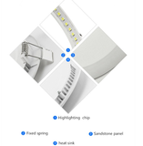 dimmable led downlight lamp led ceiling recessed downlight Square panel light Kitchen Lighting
