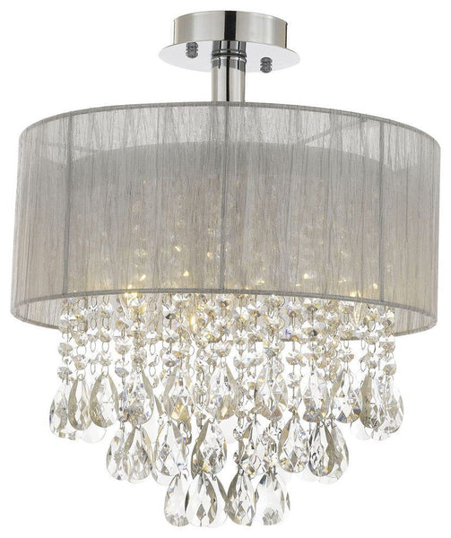 Crystal Semi-Flush Mount
