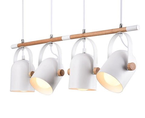 Adjustable Pendant Lights For Dining Modern Iron Hanging Lamp