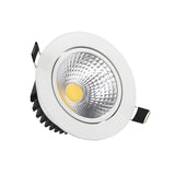 Recessed LED Dimmable Downlight COB 5W 7W 9W 12W LED Spot light LED decoration Ceiling Lamp
