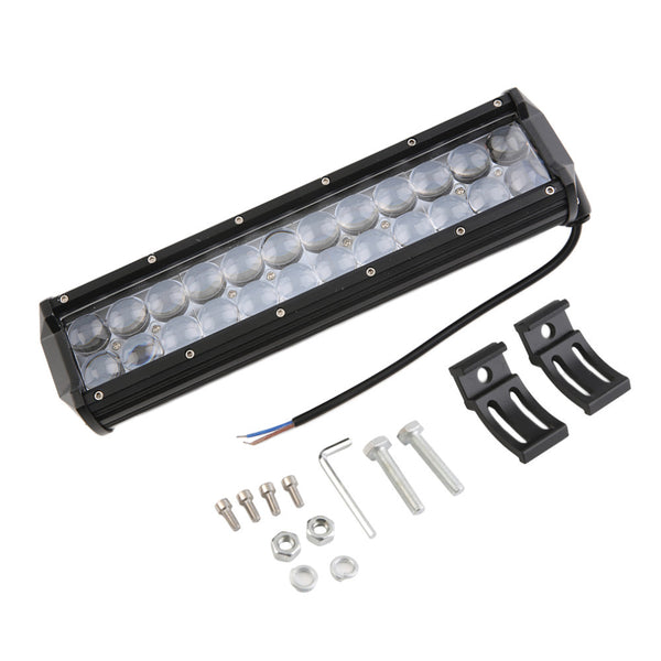 "4D LED Bar 120W 12"" Spot LED Light Bar Offroad ATV Truck 4x4 UTV 4WD Truck RZR  Camper Tractor"