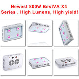 800W LED Grow Light Sunlight Full Spectrum Best for plant growth and bloom