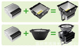 LED Floodlight 1000W Reflector Flood Light Wall Lamp Projectors Towers Mining Lamp Stadium Lights