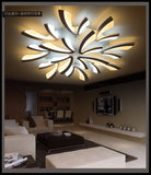 Acrylic thick Modern led ceiling lights for living room bedroom dining room home Chandelier lamp fixtures