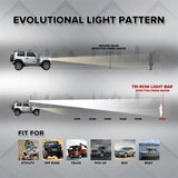 "3-Row 22"" 270W 32"" 405W 42"" 648W 52"" 783W LED Light Bar Combo Beam Led Work Light"