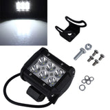 4 inch 18W LED Work Light Flood Spot Light Offroad Driving Light Bar 4x4 Truck Boat Tractor