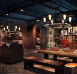 Loft rope pendant lamp for hotel project bar Cafe
