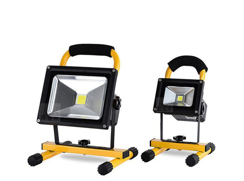 Rechargeable Led Floodlight Lithium-ion Battery 10W Flood Lamp Portable Light Ip65 90-260v