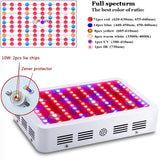1000W Full Spectrum LED Grow Light For plants hydroponics Veg Flower Fruit