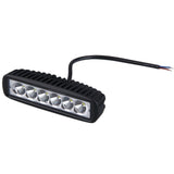 6 inch 18W LED Light Bar 12V 24V LED Bar Daytime Running Lights Truck Tractor Warning Work Light