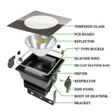 500W LED Floodlight,Reflector Stadium lights IP 65 Waterproof  for porject lighting