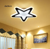 Star Living Room Led acrylic Ceiling Lights home decoration Led Dimming Ceiling Lamp