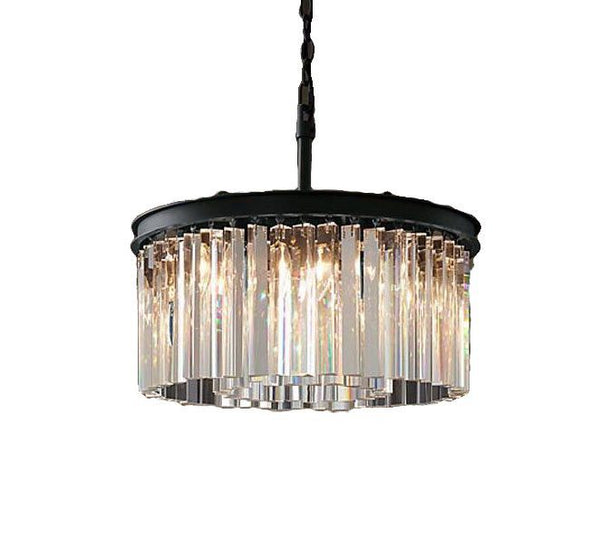 Modern luxury 2 layer led chandelier for villa hotel restaurant crystal droplight for project lighting lutre fixture