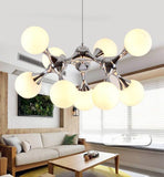 Glass Led Pendant Chandelier Lustres Pending Lighting For bed Room