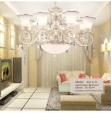 Chandelier Living Room Lamp E27 crystal chandelier for bedroom