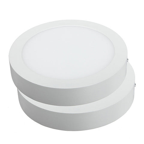 No Cut ceiling Surface mounted led downlight Round panel light SMD Ultra thin circle ceiling