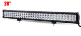 "12"" 20"" 23"" 28"" 31"" 44"" 3-Row LED Light Bar Offroad Combo Led Work Light 12v 24v"