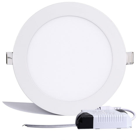 Dimmable LED Downlight 3w 4w 6w 9w 12w 15w 18w Ceiling Recessed Round LED Panel Light