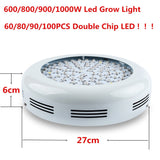 300W/600W/800W/900W/  1000W Double Chips LED Grow Light Lamp Full Spectrum