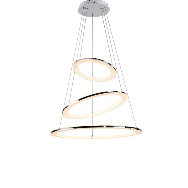 Pendant Fixture Acrylic Lampshade For Hanging Dining Room