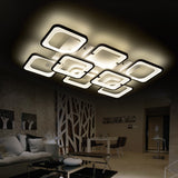 Dimmable modern led chandelier lights surface mounted led home indoor ceiling chandelier lamp