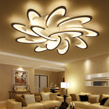 ... Surface Mounted Modern Led Ceiling Chandelier Lights For Living Room  Bedroom Chandelier Acrylice Lampshade
