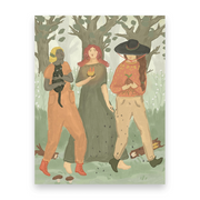 Walking Sisters | Postcards