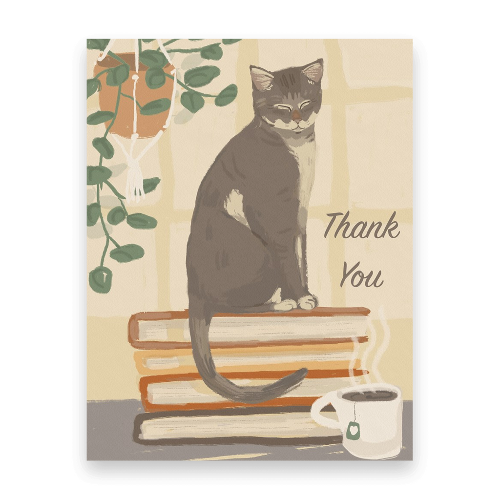 Thank You Bookcat | 10 Postcards
