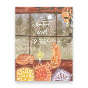 Comfort and Peace | Postcards