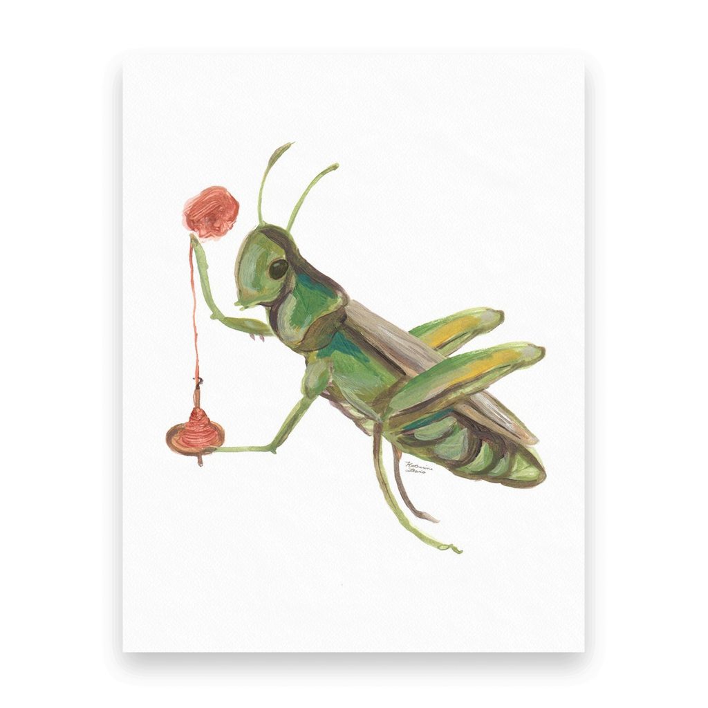 Spinning Grasshopper | 10 Postcards