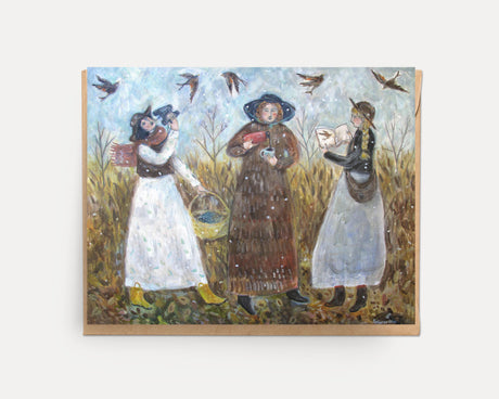 Bird Watchers | Greeting Card U-127