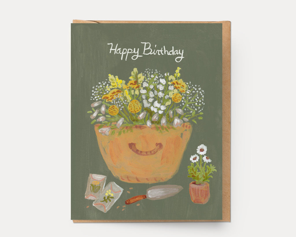 Birthday Basket | Greeting Card BD-110