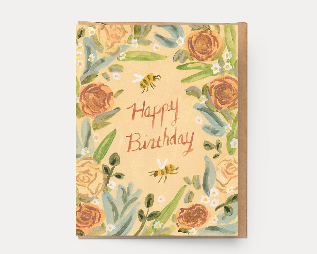 Birthday Wreath | Greeting Card BD-109