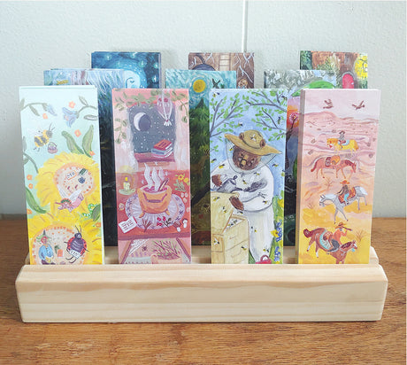 Bookmark Collection: 12 each of all 10 designs | Free display available Wholesale