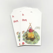 Campfire | Gift Tags - Pack of 6 Wholesale