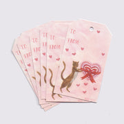 Valentine Cat | Gift Tags - Wholesale