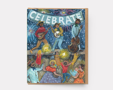 Country Celebration | Congrats Greeting Card C-101