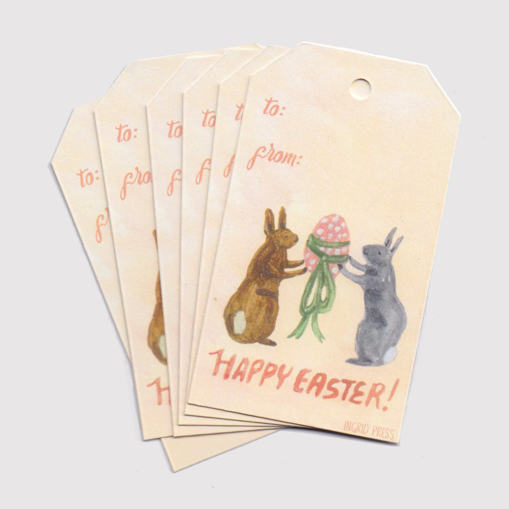 Easter Rabbits | Gift Tags
