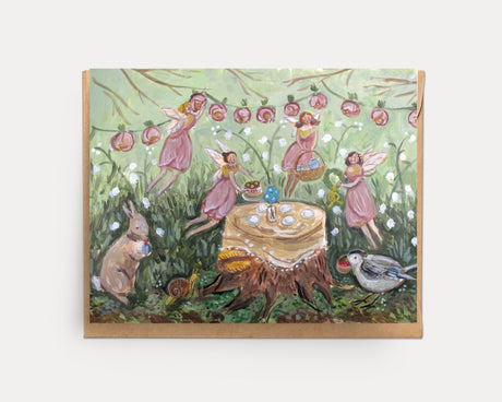 Fairy Tea | Greeting Card U-117