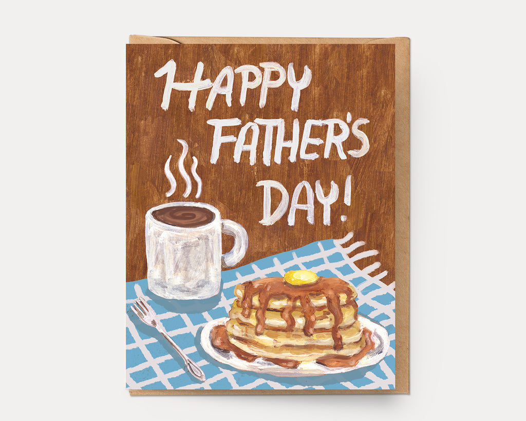 Father's Day Flapjacks | Greeting Card H-112